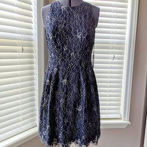 NWT Vince Camuto Lace Flare Dress